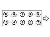 Прокладка, головка цилиндра  Прокладка ГБЦ MITSUBISHI GALAND/LANCER 2.0D 4D68 2метки 1.45мм 92  Диаметр [мм]: 84 Толщина [мм]: 1,45 Количество пазов/ отверстий: 2 Ширина (мм): 165 Длина [мм]: 403 Вес [г]: 100 только в соединении с: 81021000