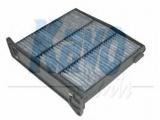 Фильтр, воздух во внутренном пространстве  Фильтр салона MITSUBISHI LANCER/OUTLANDER -07 угольный  Высота [мм]: 60 Длина [мм]: 225 Ширина (мм): 225