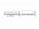 Стартерная аккумуляторная батарея; Стартерная аккумуляторная батарея    Исполнение днищевой планки: B13 Напряжение [В]: 12 Ток холодной прокрутки EN (в А): 480 Емкость батареи [Ач]: 56 Расположение полюсных выводов: 1 Длина [мм]: 242 Ширина (мм): 175 Высота [мм]: 190 Вид зажима цепи: 1 Исполнение днищевой планки: B13 Напряжение [В]: 12 Ток холодной прокрутки EN (в А): 480 Емкость батареи [Ач]: 56 Расположение полюсных выводов: 1 Длина [мм]: 242 Ширина (мм): 175 Высота [мм]: 190 Вид зажима цепи: 1