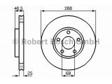 Тормозной диск  Диск тормозной AUDI 100 91>/A4 95>08/A6 95>05/VW PASSAT 97>00 пер  Диаметр [мм]: 288 Толщина тормозного диска (мм): 25 Минимальная толщина [мм]: 23 Тип тормозного диска: с внутренней вентиляцией Диаметр ступицы колеса [мм]: 68 Число отверстий: 5 Поверхность: лакированный Обработка: Высокоуглеродистый