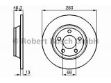 Тормозной диск  Диск торм.пер.A4 TDI 95-(DF2730)  Диаметр [мм]: 280 Толщина тормозного диска (мм): 13 Минимальная толщина [мм]: 11 Тип тормозного диска: полный Диаметр ступицы колеса [мм]: 68 Число отверстий: 5 Обработка: Высокоуглеродистый