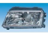 Основная фара  Фара R AUDI A4  Форма лампы: H7 Форма лампы: W5W Форма лампы: H1