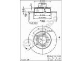 Тормозной диск  (562 005 J) Диск торм зад A4/PASSAT B5  Тип тормозного диска: полный Диаметр [мм]: 245 Толщина тормозного диска (мм): 10 Минимальная толщина [мм]: 8 Высота [мм]: 47,7 Диаметр центрирования [мм]: 68 Количество отверстий: 5