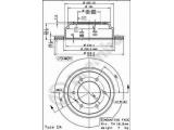 Тормозной диск  Диск торм зад FRONTERA A/B/MONTEREY  Тип тормозного диска: с внутренней вентиляцией Диаметр [мм]: 313 Толщина тормозного диска (мм): 18 Минимальная толщина [мм]: 16,6 Высота [мм]: 80,2 Диаметр центрирования [мм]: 101 Количество отверстий: 6