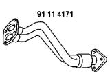 Труба выхлопного газа  Приемная труба A4 1.6/1.8 95-00  Сторона установки: спереди Вес [кг]: 3,5 Длина [мм]: 660
