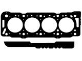 Прокладка, головка цилиндра  Прокладка ГБЦ CITROEN/PEUGEOT/FIAT 1.9D/1.9TD 1.44mm 3метка  Конструкция прокладка: Прокладка металлическая уплотняющая Монтажная толщина [мм]: 1,44 Количество пазов/ отверстий: 3 Выставление зазора поршней от  [мм]: 0,71 Выставление зазора поршней до [мм]: 0,75 Диаметр [мм]: 84 только в соединении с: ZKS: 758.270
