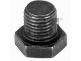 Резьбовая пробка, маслянный поддон  Пробка сливная OPEL Vectra A-B, Omega A-B, Frontera A-B, Astra F-  Длина [мм]: 18 Внешняя резьба [мм]: M 14 x 1,5 Длина резьбы [мм]: 12 Ширина зева гаечного ключа: 19 Профиль головки болта: Внешний шестигранник Материал: сталь Вес [кг]: 0,026 необходимое количество: 1