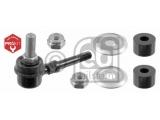 Тяга / стойка, стабилизатор  Тяга стабилизатора NISSAN ALMERA N15/PRIMERA P10/11 пер.  Внешняя резьба [мм]: M 10 x 1,25 Материал: сталь Стойка: Соединительная штанга Сторона установки: передний мост Вес [кг]: 0,100 необходимое количество: 2