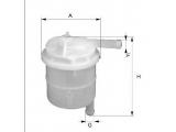 Топливный фильтр  Фильтр топливный MITSUBISHI GALANT -90/LANCER  Высота [мм]: 90 Внешний диаметр [мм]: 70 Исполнение фильтра: Прямоточный фильтр Впускн. Ø [мм]: 8,5 Выпускн.-Ø [мм]: 8,5