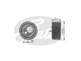 Натяжной ролик, ремень ГРМ  Ролик ремня ГРМ AUDI A4/A6/A8/VW PASSAT B5 2.4-2.8 натяжной