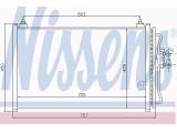 Конденсатор, кондиционер  Радиатор кондиционера FORD MAVERICK/TRIBUTE 2.0/2.3/3.0 01-  Вид коробки передач: ступенчатая / факультативная автоматическая коробка передач