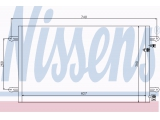 Конденсатор, кондиционер  Радиатор кондиционера VAG A6 2.0-3.2 FSi/2.0-3.0 TDi 04-  Материал: алюминий Вид коробки передач: ступенчатая / факультативная автоматическая коробка передач