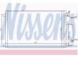 Конденсатор, кондиционер  Радиатор кондиционера NISSAN QASHQAI 1.6 07-  Вид коробки передач: механическая коробка передач Дополнительный артикул / Доп. информация 2: с осушителем
