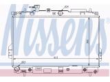 Радиатор, охлаждение двигател  Радиатор двигателя HYUNDAI MATRIX 1.6/1.8/1.5D 01-  Размеры радиатора: 360 X 623 X 27 mm Вид коробки передач: Автоматическая коробка передач Оснащение / оборудование: для транспортных средств с/без кондиционером Материал: алюминий Материал: полимерный материал