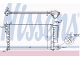 Радиатор, охлаждение двигател  Радиатор двигателя Xsara 1.4i /1.8i M/AC '98-  Вид коробки передач: механическая коробка передач