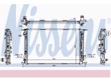 Радиатор, охлаждение двигател  Радиатор двигателя AUDI Q5 3.0 TDI 08-  Вид коробки передач: ступенчатая / факультативная автоматическая коробка передач Оснащение / оборудование: для транспортных средств с/без кондиционером