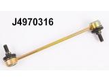 Тяга / стойка, стабилизатор  Тяга стабилизатора KIA PICANTO 04- пер.прав.  Внешняя резьба [мм]: M10X1,25 Стойка: Соединительная штанга Длина [мм]: 230 Высота 1 (мм): 40