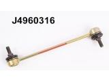 Тяга / стойка, стабилизатор  Тяга стабилизатора KIA PICANTO 04- пер.лев.  Внешняя резьба [мм]: M10X1,25 Стойка: Соединительная штанга Высота 1 (мм): 40