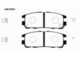 Комплект тормозных колодок, дисковый тормоз  Колодки тормозные ISUZU TROOPER 91>/OPEL FRONTERA A/B/MONTEREY A/  Толщина [мм]: 16 Высота [мм]: 39 Динамика тормоза / движения: для противоблокировочного устройства Длина [мм]: 109,6