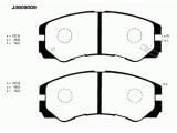 Комплект тормозных колодок, дисковый тормоз  Колодки торм. ISUZU TROOPER 91-00/00- пер.  Толщина [мм]: 16,5 Высота [мм]: 49 Длина [мм]: 137,8