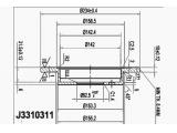 Тормозной диск  Диск торм. KIA PICANTO 1.0/1.1 04- зад.  Диаметр [мм]: 234 Высота [мм]: 37,5 Тип тормозного диска: полный Толщина тормозного диска (мм): 10 Минимальная толщина [мм]: 8,4 Количество отверстий: 4 Ø фаски 2 [мм]: 100 Диаметр ступицы [мм]: 155 Диаметр центрирования [мм]: 62,5