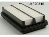 Воздушный фильтр  Фильтр воздушный KIA PICANTO 04-  Высота [мм]: 39 Длина [мм]: 253 Ширина (мм): 155
