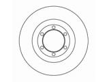 Тормозной диск  Диск торм пер вент FRONTERA 95-> (DF2795)  Диаметр [мм]: 280 Высота [мм]: 36 Тип тормозного диска: вентилируемый Толщина тормозного диска (мм): 26,0 Минимальная толщина [мм]: 24,6 Диаметр центрирования [мм]: 88 Число отверстий в диске колеса: 6
