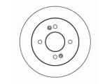 Тормозной диск  Диск тормозной KIA PICANTO/HYUNDAI i10 зад.  Диаметр [мм]: 234 Высота [мм]: 38 Тип тормозного диска: полный Толщина тормозного диска (мм): 10,0 Минимальная толщина [мм]: 8,4 Диаметр центрирования [мм]: 62,3 Число отверстий в диске колеса: 4