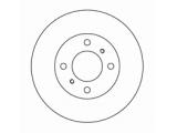 Тормозной диск  Диск торм пер вент COLT/CARISMA 95-99(DF4022)  Диаметр [мм]: 236 Высота [мм]: 45 Тип тормозного диска: вентилируемый Толщина тормозного диска (мм): 18,0 Минимальная толщина [мм]: 17 Диаметр центрирования [мм]: 64 Число отверстий в диске колеса: 4