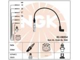 Ккомплект проводов зажигания  Провода в/в VW BORA/G4/PASSAT 97- RC-VW254  Цвет: черный Количество проводов: 4