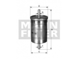Топливный фильтр  Фильтр топливный PEUGEOT/RENAULT/SMART/FIAT/CITROEN  Внешний диаметр [мм]: 55 Наружный диаметр 1 [мм]: 62 Впускн. Ø [мм]: 7,9 Выпускн.-Ø [мм]: 7,9 Высота [мм]: 136,5