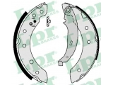 Комплект тормозных колодок  Колодки тормозные барабанные RENAULT LOGAN/PEUGEOT 206 (203x38) т  Диаметр [мм]: 203 Ширина (мм): 38 для артикула №: 07130