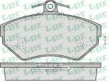 Комплект тормозных колодок, дисковый тормоз  Колодки тормозные AIDI A4 1.6/1.8/1.9D 95>00/VOLKSWAGEN PASSAT 97  Толщина [мм]: 19,6 Ширина (мм): 118,9 Высота [мм]: 69,5 для артикула №: 05P719