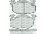 Комплект тормозных колодок, дисковый тормоз  Колодки торм пер c дат ZX/SAXO (GDB327)  Толщина [мм]: 18 Ширина (мм): 105 Высота [мм]: 54,3 для артикула №: 05P642