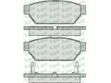 Комплект тормозных колодок, дисковый тормоз  Колодки торм зад CARISMA 1.8 16V (571943J)  Толщина [мм]: 14,2 Ширина (мм): 98,9 Высота [мм]: 37,5 Количество датчиков износа: 2 для артикула №: 05P547
