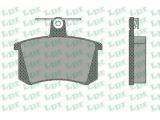Комплект тормозных колодок, дисковый тормоз  Колодки тормозные AUDI А100 82>95/A4 95>97/A6 95>97/A8 94>99 задн  Толщина [мм]: 16,5 Ширина (мм): 87 Высота [мм]: 66,8 для артикула №: 05P440