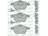 Комплект тормозных колодок, дисковый тормоз  Колодки тормозные AUDI A4/A6 1.8T-2.8 97>/VOLKSWAGEN PASSAT 1.8T-  Толщина [мм]: 19,3 Ширина (мм): 156,3 Высота [мм]: 74,2 Количество датчиков износа: 2 для артикула №: 05P1119 Длина предупреждающего контакта [мм]: 205