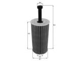 Масляный фильтр  Фильтр масляный CITROEN C2/C3/XSARA 1.1-1.6/PEUGEOT 106-307/PARTN  Высота 1 [мм]: 100 диаметр 2 (мм): 22,5 диаметр 3 (мм): 14,2 Внешний диаметр [мм]: 52,3 Исполнение фильтра: Фильтр-патрон
