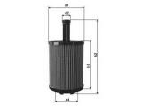 Масляный фильтр  Фильтр масляный VAG/FORD GALAXY  Высота [мм]: 140,7 Высота 1 [мм]: 92,5 диаметр 2 (мм): 16 диаметр 4 (мм): 48,5 Внешний диаметр [мм]: 71,5 Исполнение фильтра: Фильтр-патрон