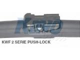 Щетка стеклоочистителя  Щётка с/о 600мм FLATE BLADE Pushlock  Длина [мм]: 600 вариант оснащения: Flatblade Pushlock