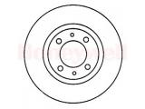 Тормозной диск  Диск торм пер вент MITS CARISMA  Сторона установки: передний мост Диаметр [мм]: 236 Высота [мм]: 45 Толщина тормозного диска (мм): 18 Минимальная толщина [мм]: 17 Тип тормозного диска: вентилируемый Количество отверстий: 4