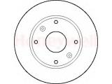 Тормозной диск    Сторона установки: передний мост Диаметр [мм]: 247 Высота [мм]: 34,3 Толщина тормозного диска (мм): 20,5 Минимальная толщина [мм]: 18,5 Тип тормозного диска: вентилируемый Количество отверстий: 4