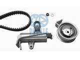 Комплект ремня ГРМ  Комплект ремня ГРМ AUDI A4/A6/VW PASSAT B5 1.8T-2.0  Ширина (мм): 23 Число зубцов: 150 Дополнительный артикул / Дополнительная информация: с дополнительными материалами