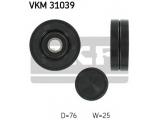Паразитный / ведущий ролик, поликлиновой ремень  Ролик ремня приводного AUDI A4/A6/A8/VW PASSAT 2.5D обводной