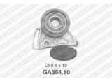 Натяжной ролик, поликлиновой  ремень  Ролик ремня приводного AUDI A4/A6/VW PASSAT 1.6-1.9D 95-05  Диаметр [мм]: 59,8 Ширина (мм): 19