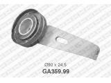 Натяжной ролик, поликлиновой  ремень  Ролик ремня приводного PEUGEOT 406/CITROEN XSARA/XANTIA  Диаметр [мм]: 90 Ширина (мм): 24,5
