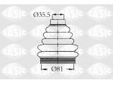 Комплект пылника, приводной вал  Пыльник ШРУСа CITROEN С4/PEUGEOT 206-307 наруж.  Сторона установки: со стороны колеса Спецификация: Kit complet Материал: термопласт