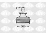 Комплект пылника, приводной вал  Пыльник ШРУСа CITROEN BERLINGO/XSARA/PEUGEOT 205-605/PARTNER 1.6-  Сторона установки: со стороны колеса для оригинального номера: 329391 Спецификация: Kit complet
