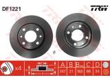 Тормозной диск  Диск торм пер вент PEU.206/XSARA (561409J)  Тип тормозного диска: вентилируемый Диаметр [мм]: 247 Толщина тормозного диска (мм): 20,5 Минимальная толщина [мм]: 18,5 Диаметр центрирования [мм]: 66 Высота [мм]: 34 Количество отверстий: 4 Размер резьбы: 13,6 Ø фаски 2 [мм]: 108