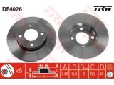 Тормозной диск  Диск торм зад A4/PASSAT 95-01 (562005J)  Тип тормозного диска: полный Диаметр [мм]: 245 Толщина тормозного диска (мм): 9,9 Минимальная толщина [мм]: 8 Диаметр центрирования [мм]: 68 Высота [мм]: 48 Количество отверстий: 5 Размер резьбы: 15,3 Ø фаски 2 [мм]: 112